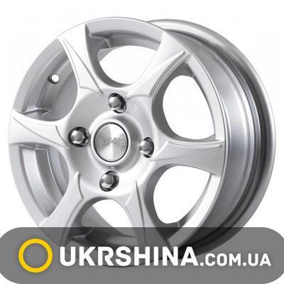 Литые диски Скад Аэро W5 R13 PCD4x100 ET35 DIA67.1 алмаз