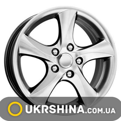 Литые диски КиК КС395 (Mazda 6) W7 R16 PCD5x114.3 ET55 DIA67.1 сильвер