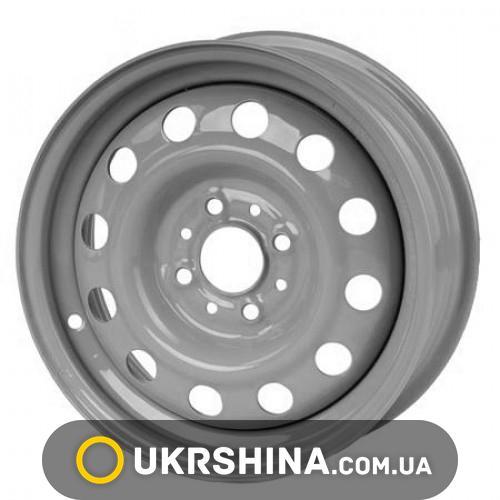 Стальные диски Кременчуг ВАЗ 2110 W5 R14 PCD4x98 ET35 DIA58.6 Gray