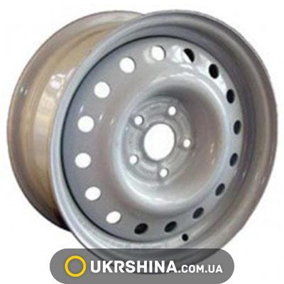 Стальные диски Кременчуг ГАЗ 3102 W5.5 R14 PCD5x139.7 ET6 DIA110 белый