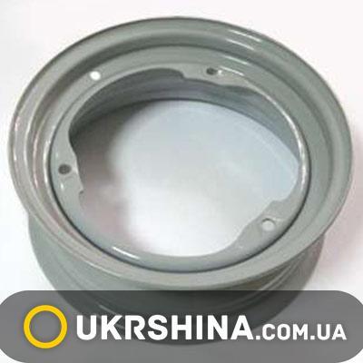 Стальные диски Кременчуг К11021 (ЗАЗ) W4.5 R13 PCD3x256 ET30 DIA228 Gray