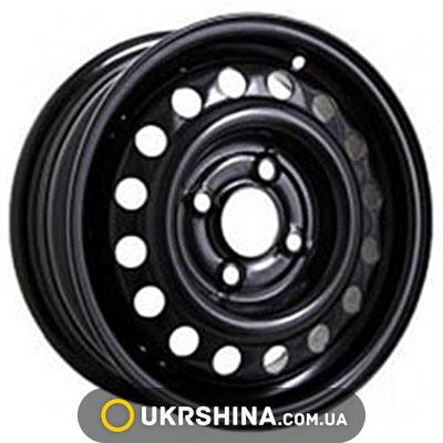 Стальные диски Кременчуг К202 (Opel) W6 R15 PCD5x110 ET49 DIA65.1 black