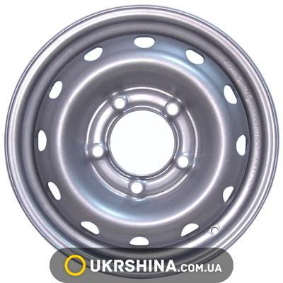 Стальные диски Кременчуг К207 (Нива-Chevrolet) W6 R15 PCD5x139.7 ET40 DIA98 S