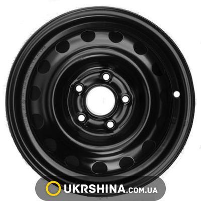 Стальные диски Кременчуг К237 (Kia) W6 R15 PCD5x114.3 ET41 DIA67 black