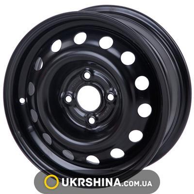 Стальные диски Кременчуг К227 (Geely MK) W5.5 R14 PCD4x100 ET39 DIA56.5 черный