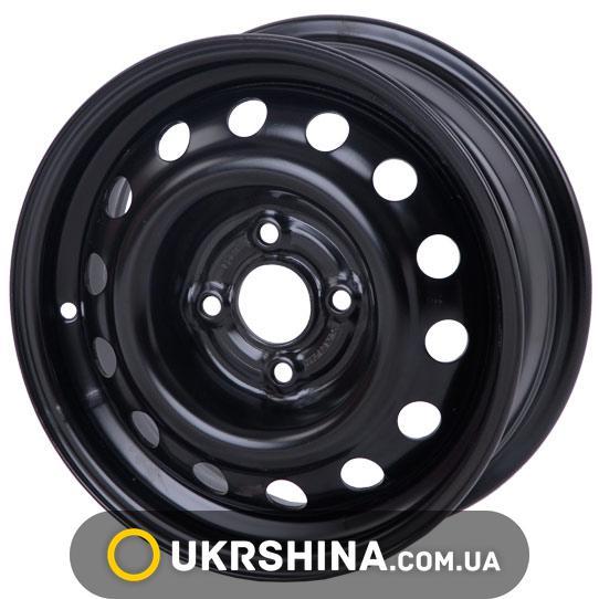 Стальные диски Кременчуг К227 (Geely MK) W5.5 R14 PCD4x100 ET39 DIA56.6 чёрный