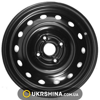 Стальные диски Кременчуг К231 (Chery) W6 R15 PCD4x114.3 ET39 DIA57 black