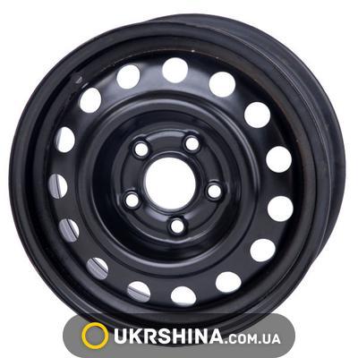 Стальные диски Кременчуг К236 (Mazda) W6 R15 PCD5x114.3 ET52.5 DIA67 черный