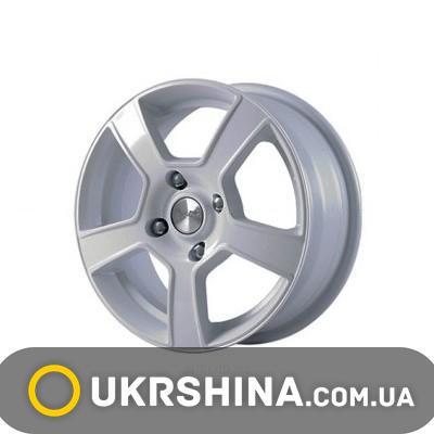 Литые диски Скад Санрайз W6 R15 PCD4x114.3 ET40 DIA67.1 алмаз