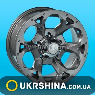 Литые диски Aleks 1022 графит W7 R16 PCD5x139.7 ET-10 DIA98.5