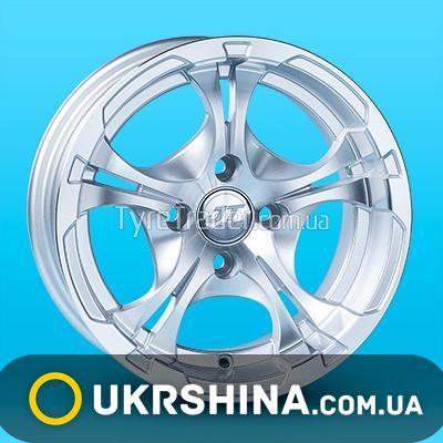 Литые диски JT 1205 W6 R13 PCD4x98 ET0 DIA58.6 MS
