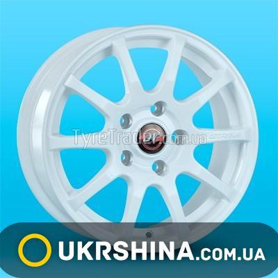 Литые диски JT 1232 W6.5 R15 PCD4x100 ET38 DIA67.1 white