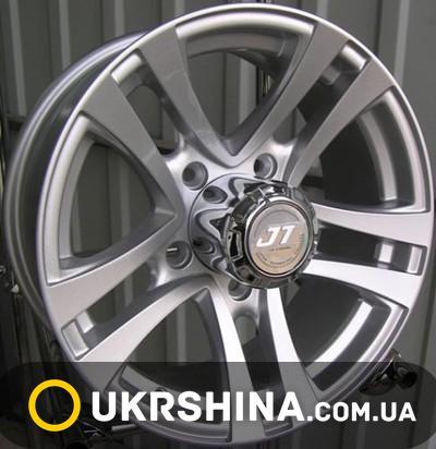 Литые диски JT 1241 W5.5 R16 PCD5x139.7 ET10 DIA98.5 silver