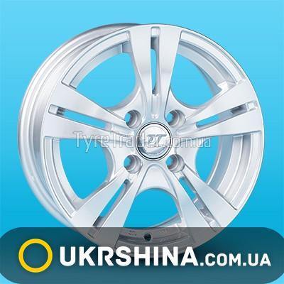 Литые диски JT 2805 W5.5 R13 PCD4x98 ET35 DIA58.6 silver