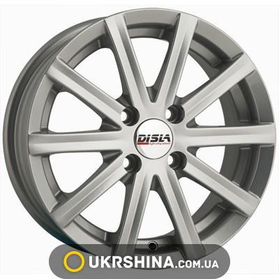 Литые диски Disla Baretta 305 W5.5 R13 PCD4x108 ET30 DIA67.1 silver