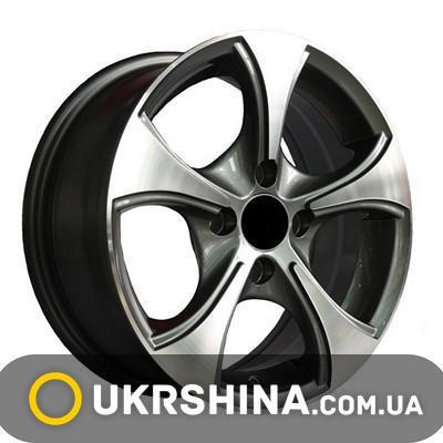 Литые диски Adora 328 W5.5 R13 PCD4x98 ET35 DIA58.6 silver