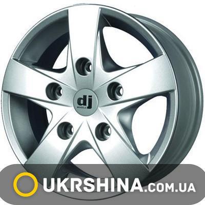 Литые диски DJ 367 silver W6.5 R16 PCD5x130 ET50 DIA84.1