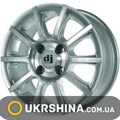 Литые диски DJ 386 W6.5 R15 PCD5x108 ET35 DIA72.6 silver