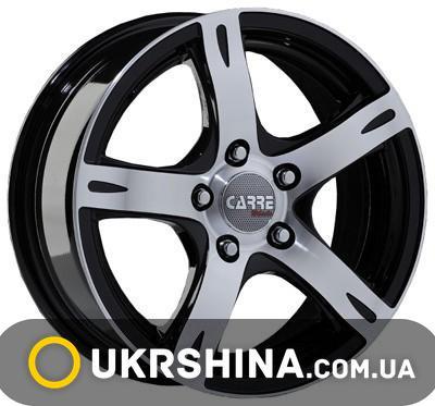 Литые диски Carre 405 W6 R14 PCD4x98 ET32 DIA67.1 silver
