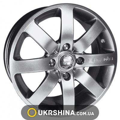 Литые диски Stilauto 4+4 W6.5 R15 PCD4x100 ET38 DIA67.1 super look