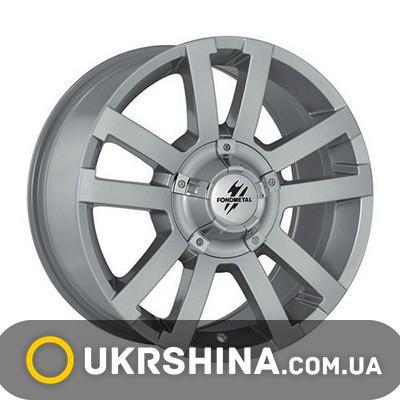 Литые диски Fondmetal 7700 silver W8.5 R18 PCD6x139.7 ET5 DIA93.1