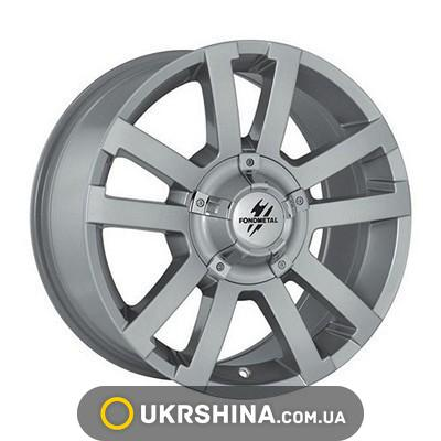 Литые диски Fondmetal 7700 silver W8 R17 PCD6x139.7 ET20 DIA106