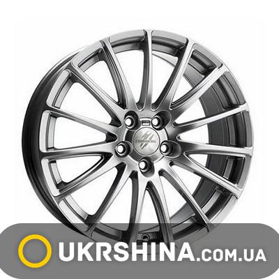 Литые диски Fondmetal 7800 black polished W7 R17 PCD5x100 ET35 DIA57.1