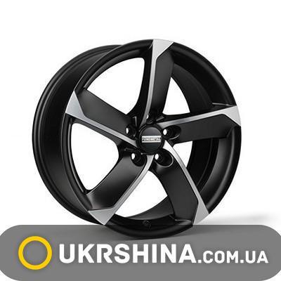 Литые диски Fondmetal 7900 matt black polished W6.5 R15 PCD4x100 ET30 DIA60.1