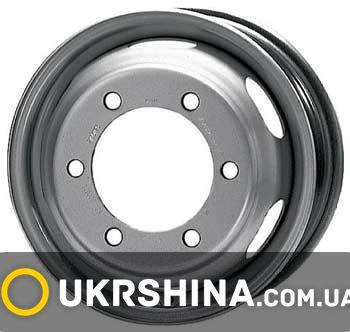 Стальные диски KFZ 9465 silver W5 R16 PCD6x180 ET105.5 DIA138.8