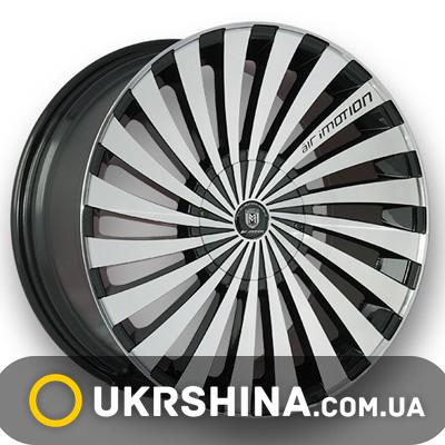 Литые диски Marcello AIM-011 AM/B W8.5 R18 PCD5x105 ET35