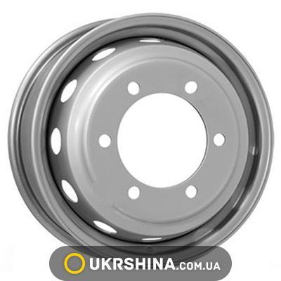 Стальные диски ALST (KFZ) 6024 W6 R16 PCD6x205 ET124 DIA161 silver