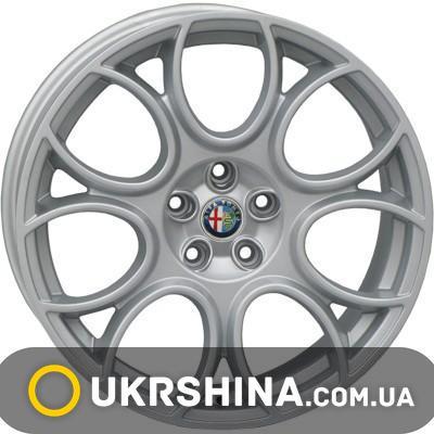 Литые диски For Wheels AL 670f (Alfa Romeo) silver W8 R18 PCD5x110 ET41 DIA65.1