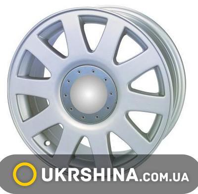 Литые диски Kormetal A 66 silver W7 R16 PCD5x100 ET35 DIA57.1