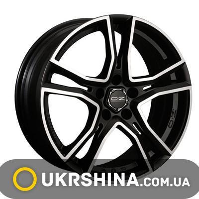 Литые диски OZ Racing Adrenalina W8 R17 PCD5x112 ET48 DIA75 black diamond