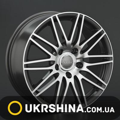 Литые диски Replay Audi (A40) W8 R18 PCD5x130 ET56 DIA71.6 BKF