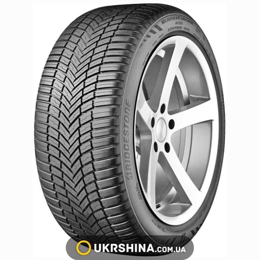 Всесезонные шины Bridgestone Weather Control A005 225/55 R17 101W XL FR