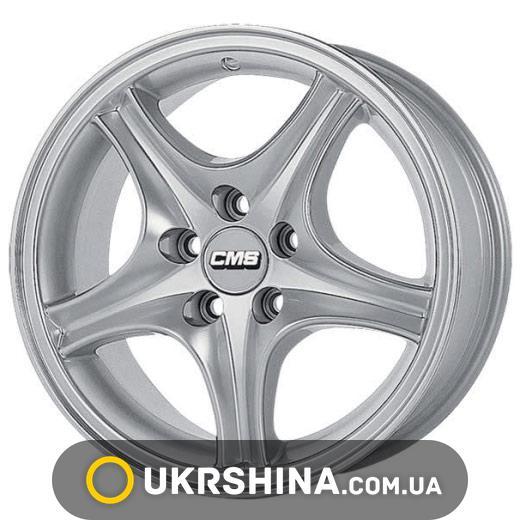 Литые диски CMS 209 W7.5 R15 PCD5x120 ET18 DIA74.1 silver