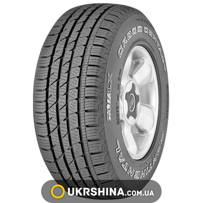 Летние шины Continental ContiCrossContact LX 255/60 R17 106H