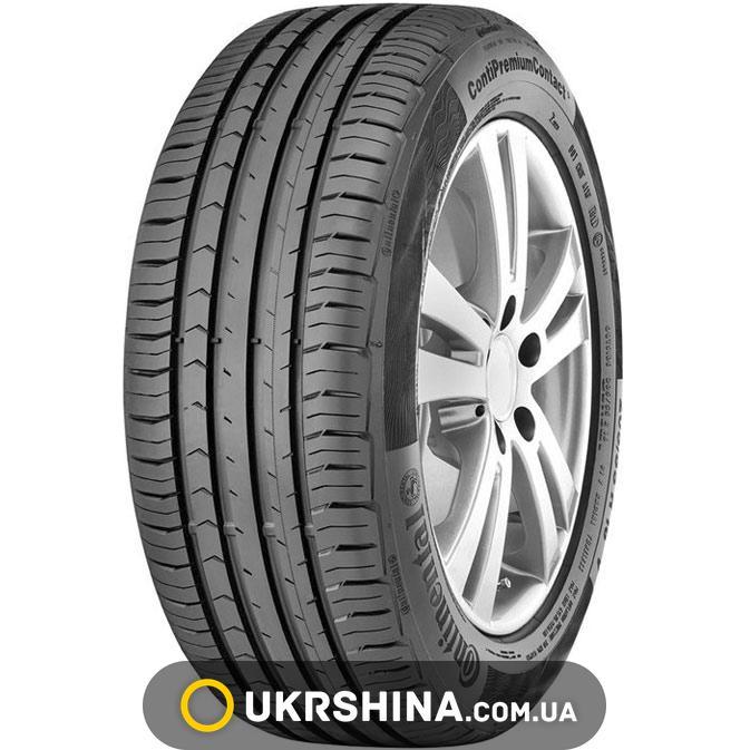 Летние шины Continental ContiPremiumContact 5 225/55 R17 97W *