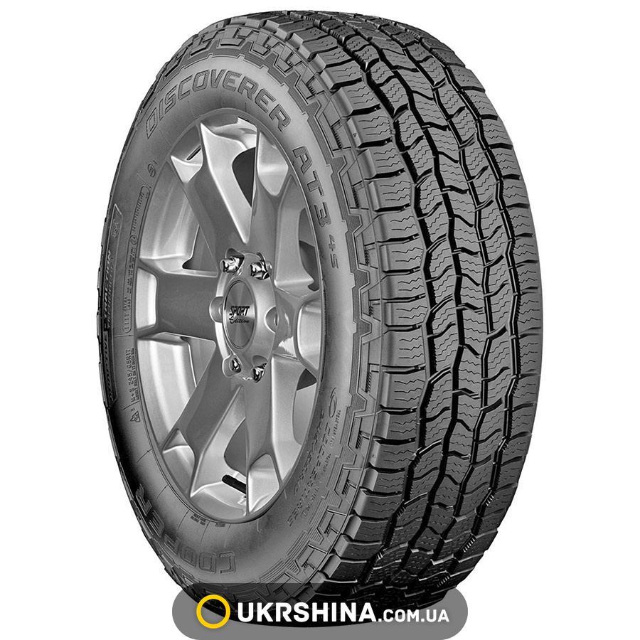 Всесезонные шины Cooper Discoverer AT3 4S 275/55 R20 117T XL