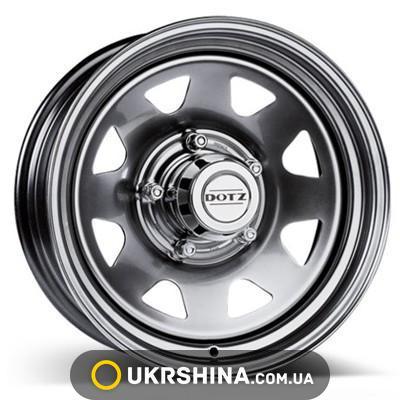 Литые диски Dotz Dakar black W7 R16 PCD6x139.7 ET30 DIA67.1