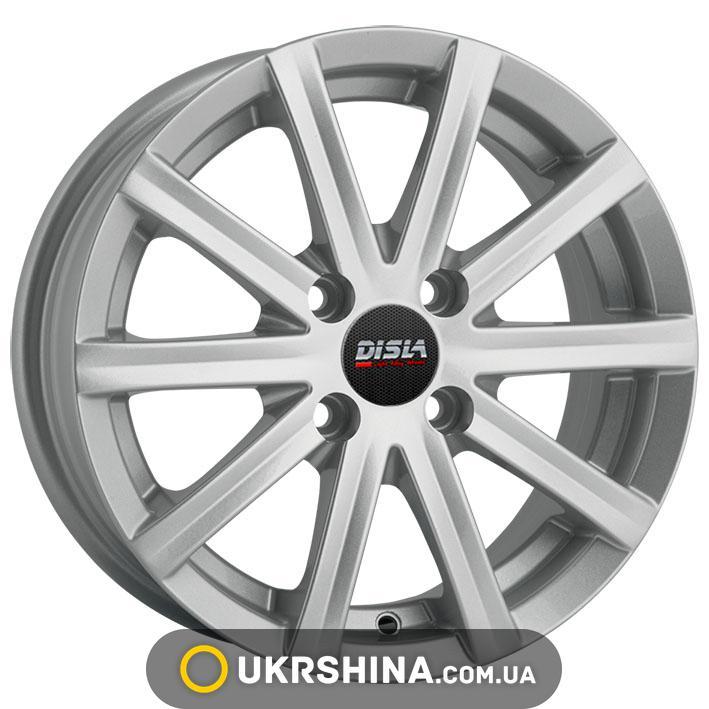 Литые диски Disla Baretta 305 W5.5 R13 PCD4x108 ET30 DIA72.6 silver