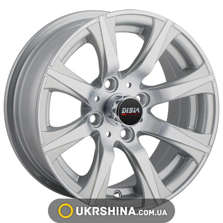 Литые диски Disla Corsica 313 W5.5 R13 PCD4x98 ET5 DIA58.6 silver