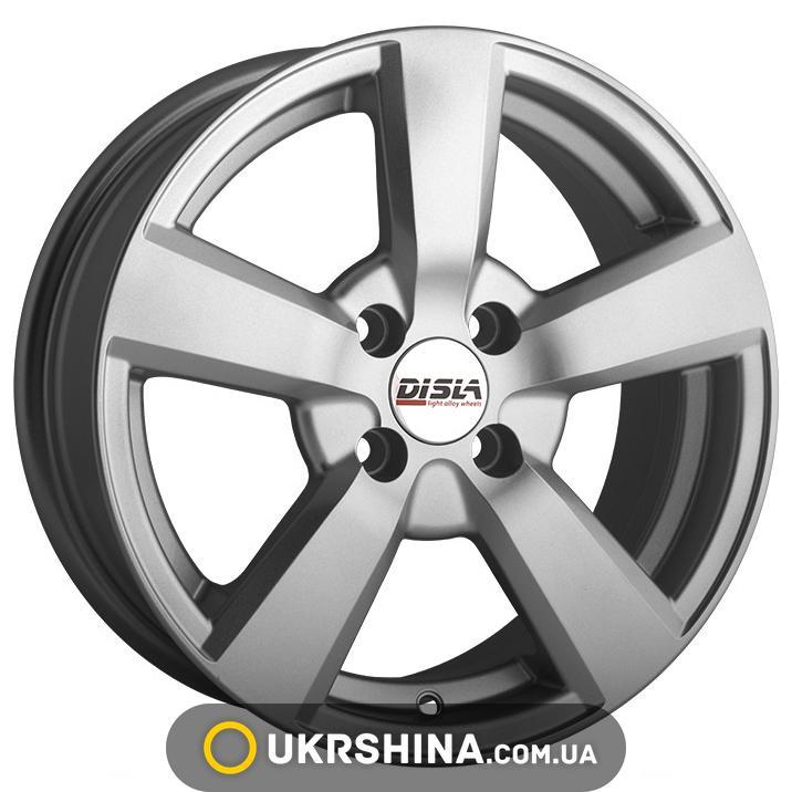 Литые диски Disla Formula 503 W6.5 R15 PCD5x110 ET35 DIA65.1 silver