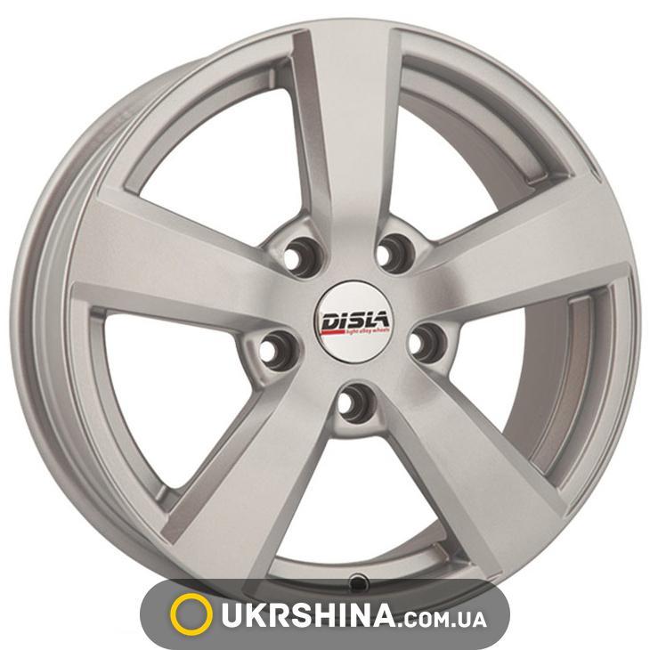 Литые диски Disla Formula 603 W7 R16 PCD5x100 ET38 DIA67.1 S