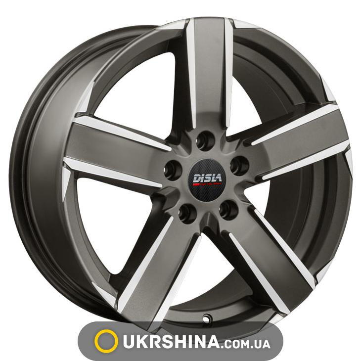 Литые диски Disla Luch 724 W7.5 R17 PCD5x114.3 ET35 DIA60.1 GMD