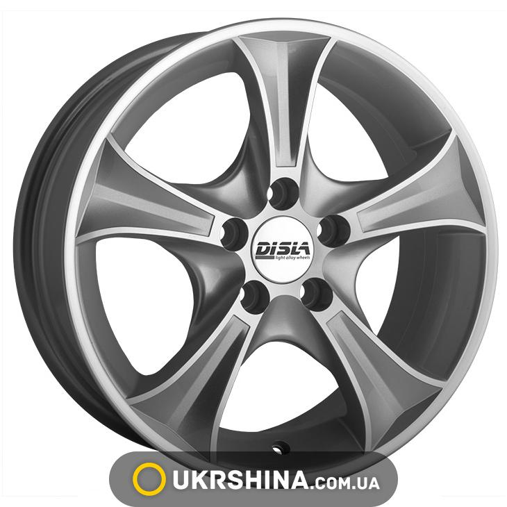 Литые диски Disla Luxury 306 W5.5 R13 PCD4x98 ET30 DIA67.1 SD