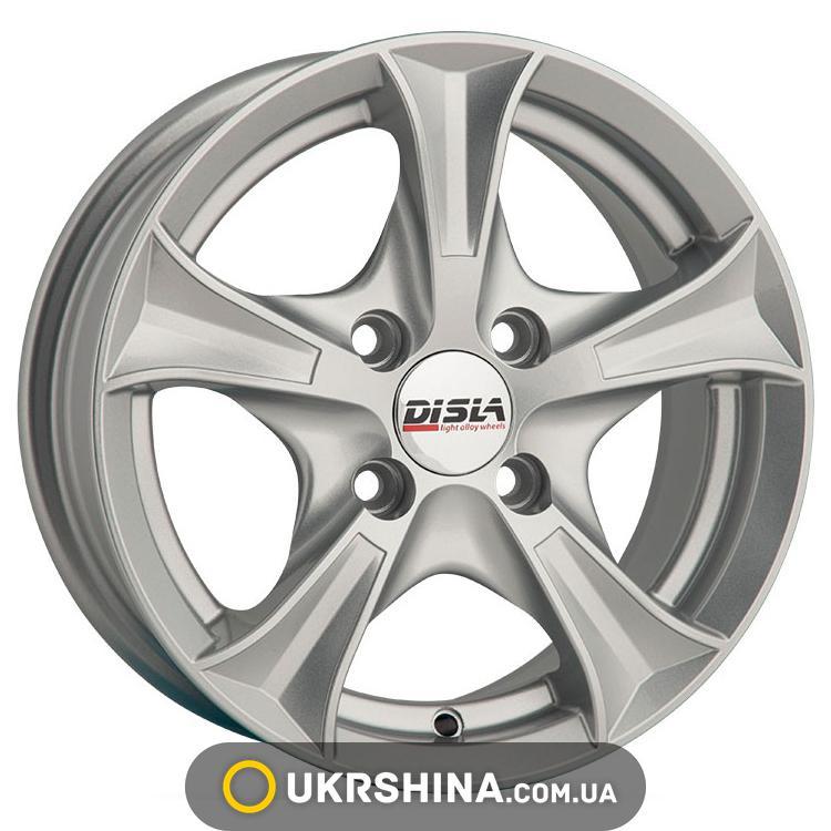 Литые диски Disla Luxury 306 W5.5 R13 PCD4x100 ET30 DIA67.1 S