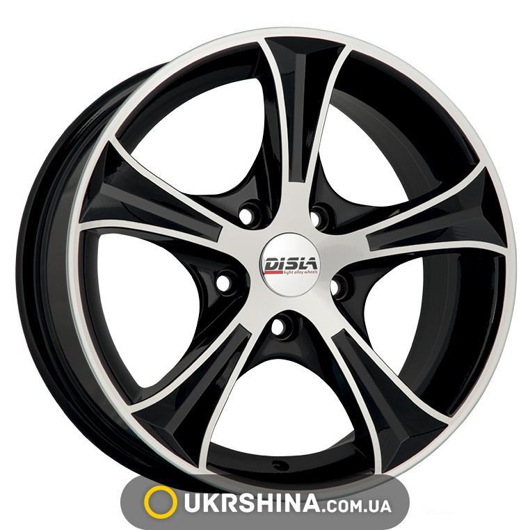 Литые диски Disla Luxury 406 W6 R14 PCD5x100 ET37 DIA57.1 BD
