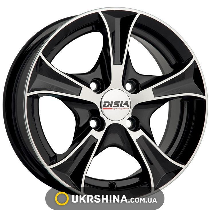 Литые диски Disla Luxury 406 W6 R14 PCD4x100 ET37 DIA67.1 BD